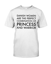 DANISH WOMEN PRINCESS WARRIOR Classic T-Shirt thumbnail