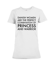 DANISH WOMEN PRINCESS WARRIOR Premium Fit Ladies Tee thumbnail