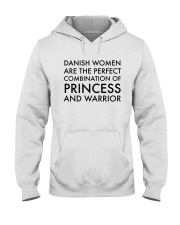 DANISH WOMEN PRINCESS WARRIOR Hooded Sweatshirt thumbnail