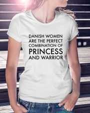 DANISH WOMEN PRINCESS WARRIOR Ladies T-Shirt lifestyle-women-crewneck-front-7
