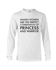 DANISH WOMEN PRINCESS WARRIOR Long Sleeve Tee thumbnail