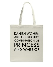 DANISH WOMEN PRINCESS WARRIOR Tote Bag thumbnail