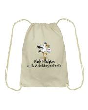 DUTCH INGREDIENTS -  BELGIAN VERSION Drawstring Bag thumbnail