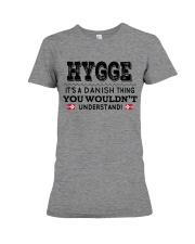 HYGGE DANISH THING Premium Fit Ladies Tee thumbnail