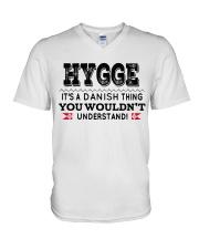 HYGGE DANISH THING V-Neck T-Shirt thumbnail