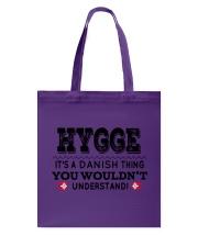 HYGGE DANISH THING Tote Bag thumbnail