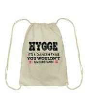 HYGGE DANISH THING Drawstring Bag thumbnail