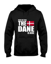 DENMARK DANE IS HERE  Hooded Sweatshirt thumbnail