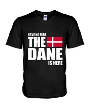 DENMARK DANE IS HERE  V-Neck T-Shirt thumbnail