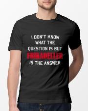 DENMARK FRIKADELLER IS ANSWER Classic T-Shirt lifestyle-mens-crewneck-front-13
