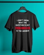 DENMARK FRIKADELLER IS ANSWER Classic T-Shirt lifestyle-mens-crewneck-front-3