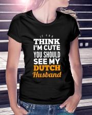 DUTCH HUSBAND Ladies T-Shirt lifestyle-women-crewneck-front-7