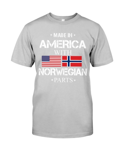 AMERICAN MADE WITH NORWEGIAN PARTS