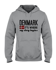 DENMARK STORY BEGINS Hooded Sweatshirt thumbnail