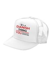 DENMARK STORY BEGINS Trucker Hat left-angle