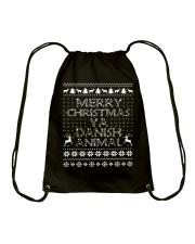 DANISH CHRISTMAS Drawstring Bag thumbnail