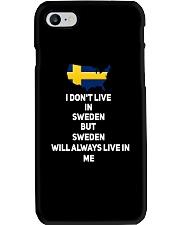 SWEDISH MAP Phone Case thumbnail