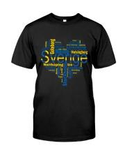 SWEDISH MAP Classic T-Shirt thumbnail