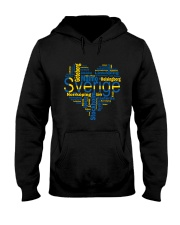SWEDISH MAP Hooded Sweatshirt thumbnail
