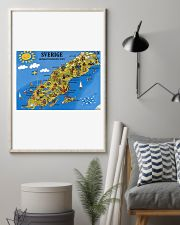 SWEDISH MAP 11x17 Poster lifestyle-poster-1