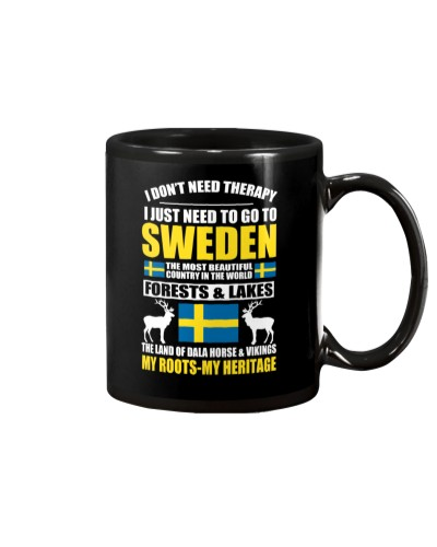 SWEDEN THERAPY T-SHIRT HOODIE TANK TOP MUG
