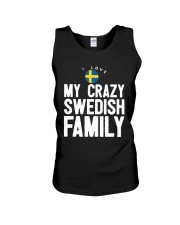 SWEDISH FAMILY Unisex Tank tile