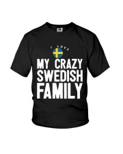 SWEDISH FAMILY Youth T-Shirt front