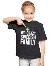 SWEDISH FAMILY Youth T-Shirt lifestyle-youth-tshirt-front-2