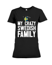 SWEDISH FAMILY Premium Fit Ladies Tee tile
