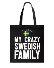 SWEDISH FAMILY Tote Bag tile