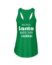 SWEDISH DANISH FARMOR SANTA T-SHIRT HOODIE  Ladies Flowy Tank thumbnail