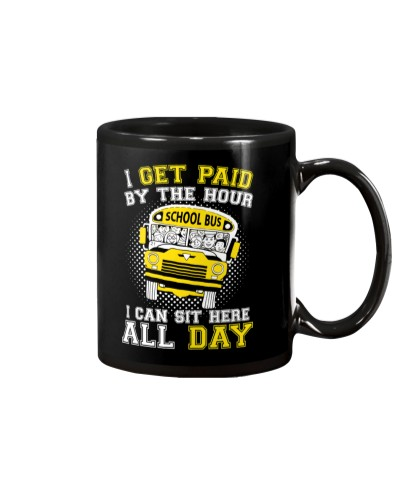 SCHOOL BUS DRIVER GETS PAID