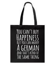 GERMAN HAPPINESS Tote Bag thumbnail