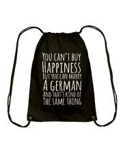 GERMAN HAPPINESS Drawstring Bag thumbnail