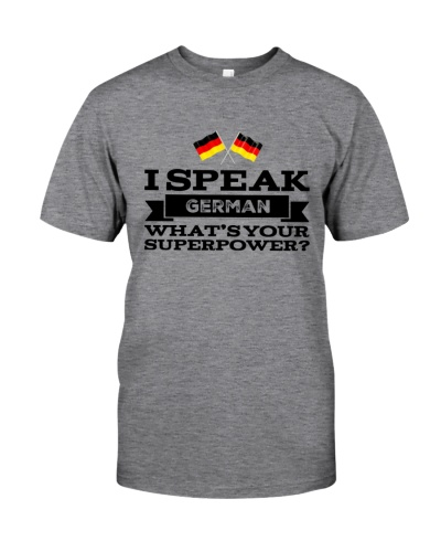 I SPEAK GERMAN SUPERPOWER