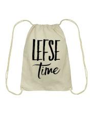 LEFSE TIME NORWEGIAN Drawstring Bag thumbnail