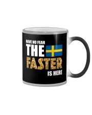 SWEDISH FASTER SQUAD Color Changing Mug tile