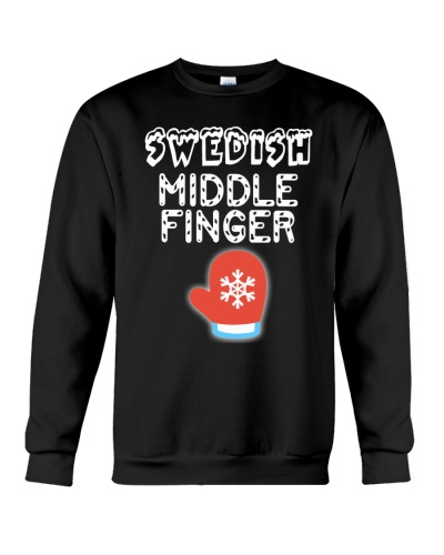 SWEDISH MIDDLE FINGER T-SHIRT HOODIE TANK TOP