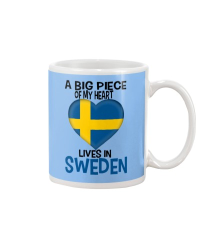 A BIG PIECE OF MY HEART LIVES IN SWEDEN