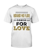 DANISH RODGROD MED FLODE Classic T-Shirt thumbnail