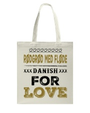 DANISH RODGROD MED FLODE Tote Bag tile