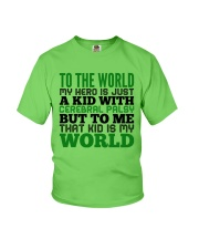 CEREBRAL PALSY KID Youth T-Shirt thumbnail