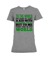 CEREBRAL PALSY KID Premium Fit Ladies Tee thumbnail