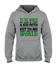 CEREBRAL PALSY KID Hooded Sweatshirt thumbnail