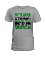 CEREBRAL PALSY KID Ladies T-Shirt thumbnail