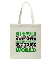 CEREBRAL PALSY KID Tote Bag thumbnail