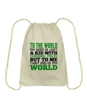CEREBRAL PALSY KID Drawstring Bag thumbnail