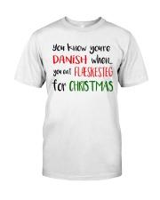 DENMARK FLAESKESTEG CHRISTMAS Classic T-Shirt thumbnail