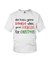 DENMARK FLAESKESTEG CHRISTMAS Youth T-Shirt thumbnail