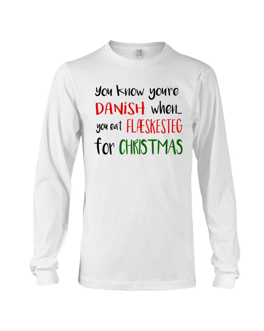DENMARK FLAESKESTEG CHRISTMAS Long Sleeve Tee